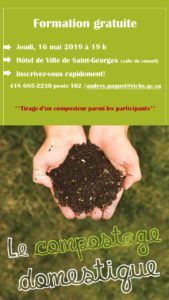 Formation gratuite sur le compostage @ Salle du conseil de l'hôtel de ville de Saint-Georges